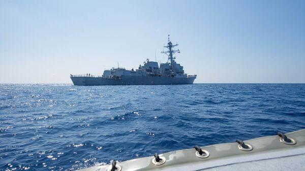 Le destroyer USS Dewey  - Sputnik France