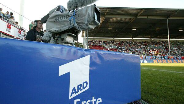 Eine Fernsehkamera des Ersten Deutschen Fernsehens, ARD - Sputnik France