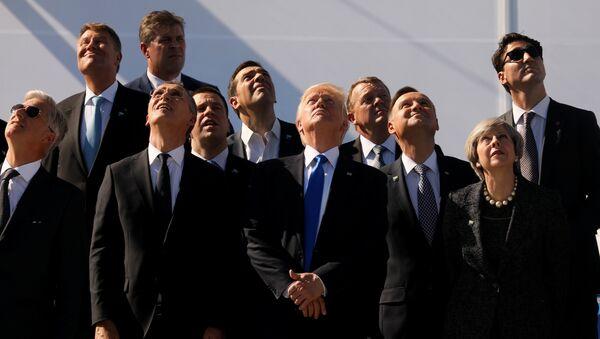 Comment Donald Trump a «gâché la fête» des Européens au sommet de l'Otan - Sputnik France