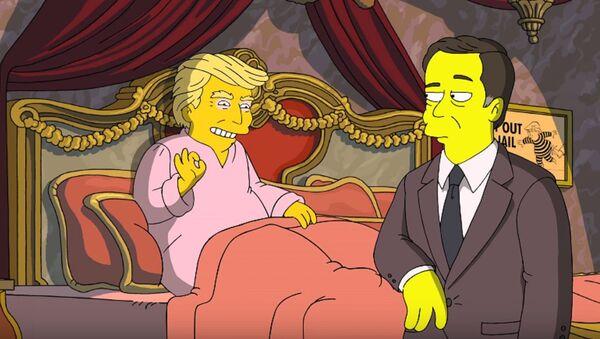 Trump propose à Comey de repartir à zéro… dans «Les Simpson» - Sputnik France