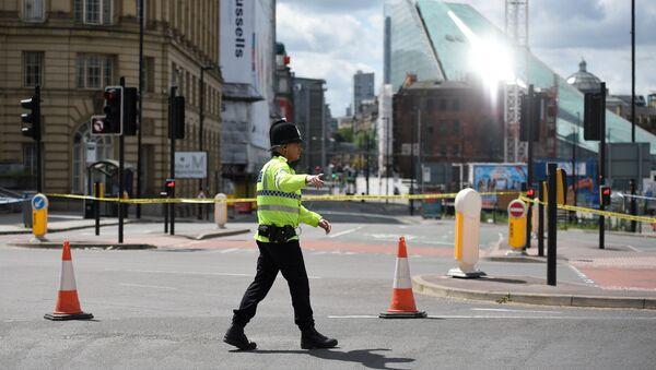 Un policier de Manchester - Sputnik France