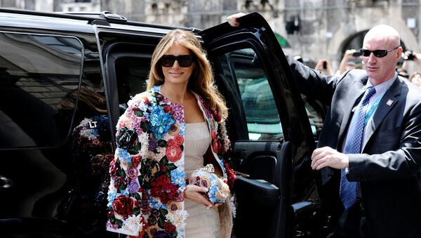 La première tournée de Melania Trump à l'étranger en tant que Première dame - Sputnik France