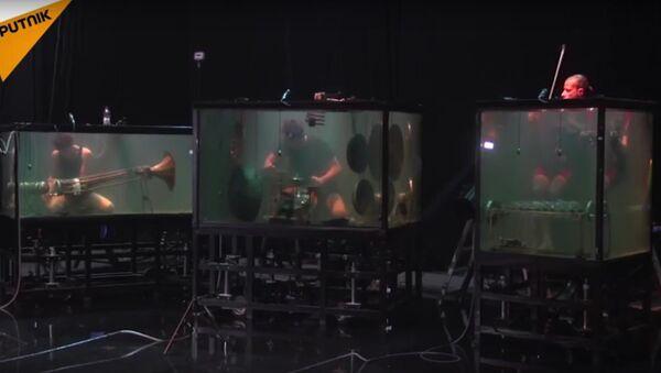 Avez-vous déjà vu un concert sous l'eau? - Sputnik France