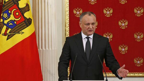 Igor Dodon, Président moldave - Sputnik France