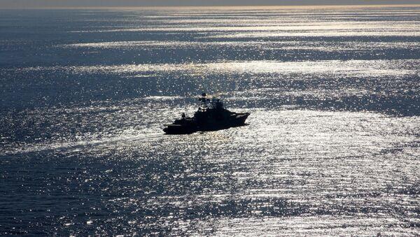 Le navire russe Severomorsk - Sputnik France