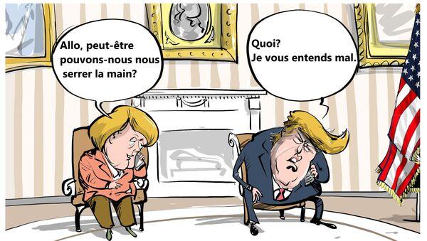 Trump aux leaders mondiaux: appelez-moi sur mon portable - Sputnik France
