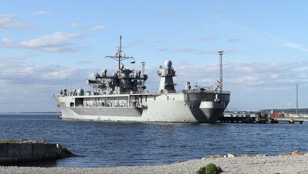 Un navire de guerre US, image d'illustration - Sputnik France