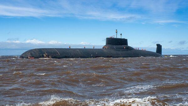 Dmitry Donskoy nuclear submarine - Sputnik France