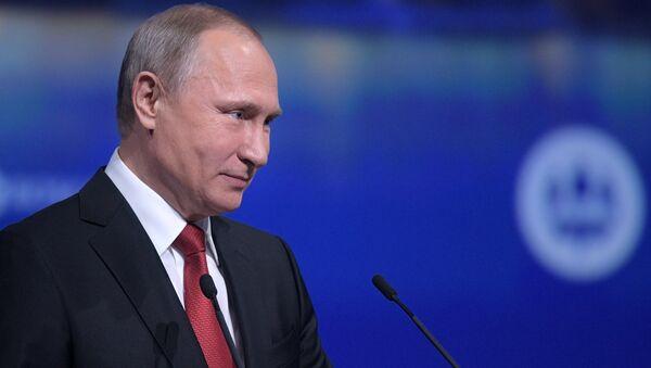 Poutine: je ne crie jamais sur les gens - Sputnik France