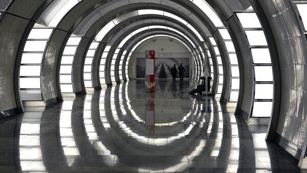 Le métro de Moscou - Sputnik France
