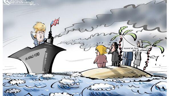 Les États-Unis sortent de l'Accord de Paris sur le climat - Sputnik France