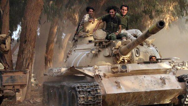 L'Armée nationale libyenne - Sputnik France