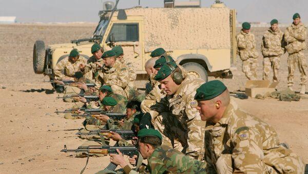 Des militaires britanniques entrainent les troupes afghanes dans le sud d'Afghanistan - Sputnik France