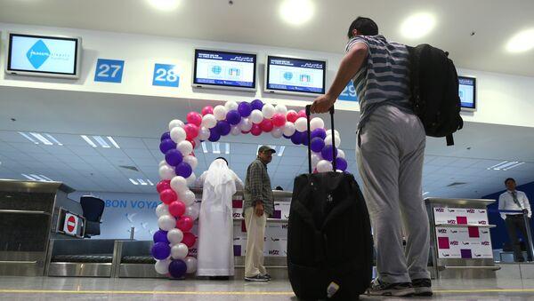 Enregistrement à l'aéroport de Dubaï - Sputnik France