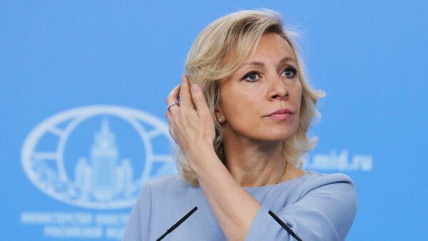 Брифинг официального представителя МИД России Марии Захаровой - Sputnik France