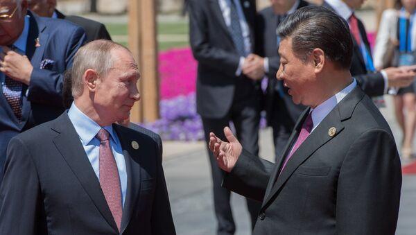 Poutine ironise sur Xi Jinping qui a «perdu» sa délégation: «un seul combattant» - Sputnik France