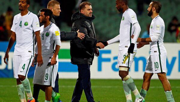 Les footballeurs d'Arabie saoudite après le match contre l'Australie - Sputnik France