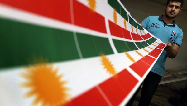 Drapeau kurdes - Sputnik France