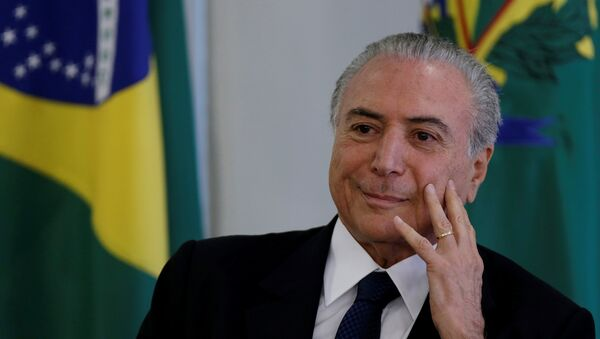 Brazil's President Michel Temer - Sputnik France