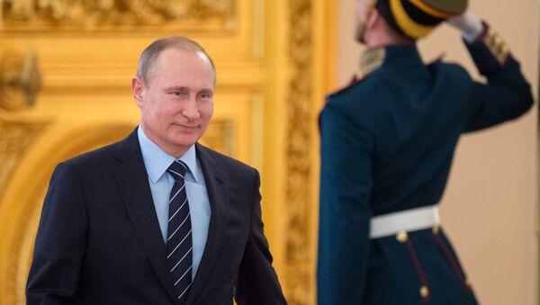 Президент России Владимир Путин в Кремле - Sputnik France