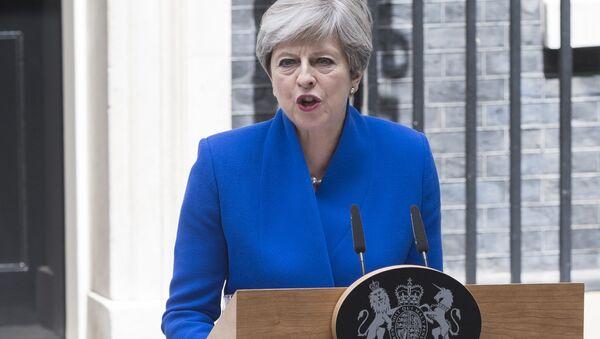 Thérésa May, la Première ministre du Royaume-Uni - Sputnik France
