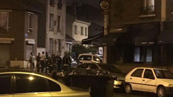 Un jet de cocktail Molotov provoque un incendie à Aubervilliers, 4 blessés - Sputnik France