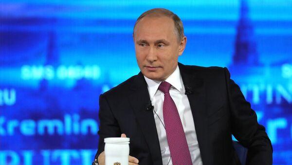 Poutine: «La Russie pour la liberté sur Internet, mais contre l'impunité» - Sputnik France
