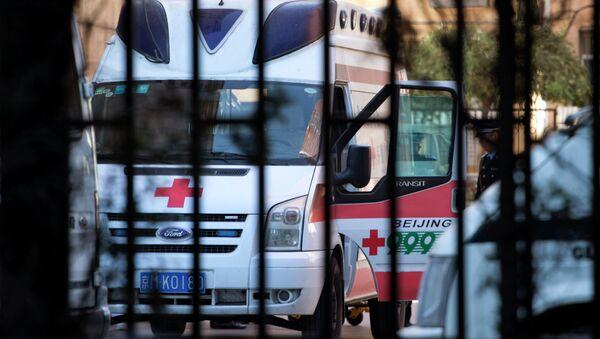 Ambulance en Chine - Sputnik France