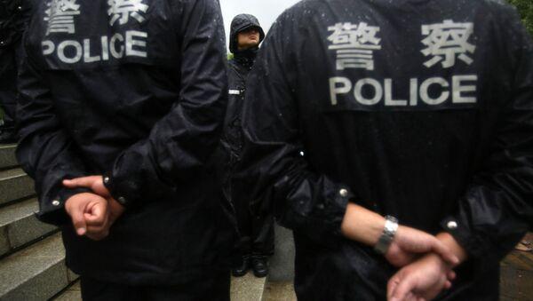 Chinese police officers. (File) - Sputnik France
