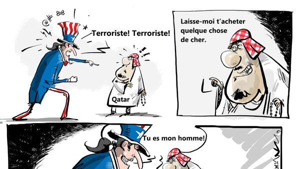 Les USA vendent des F-15 au Qatar malgré les accusations de soutien au terrorisme - Sputnik France