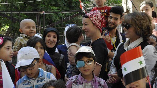 La Russie livre en Syrie des médicaments pour les enfants atteints de cancer - Sputnik France