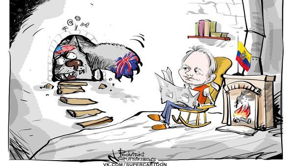 Julian Assange a-t-il une chance de retrouver la liberté? - Sputnik France