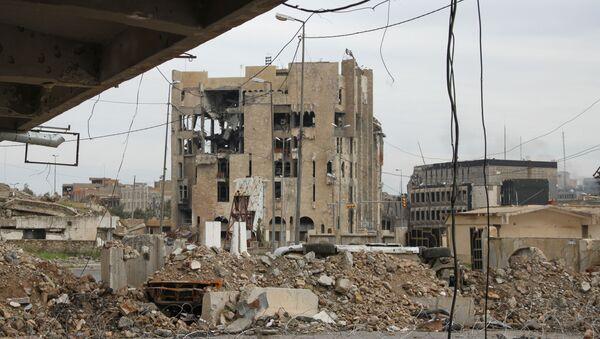 Разрушенные здания в Мосуле - Sputnik France