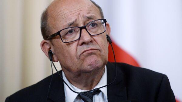 Jean-Yves Le Drian - Sputnik France