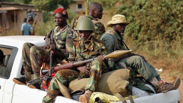 Des combattats séléka en Centrafrique - Sputnik France