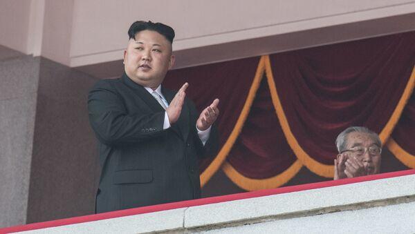 Kim Jong-un, leader  de la Corée du Nord - Sputnik France