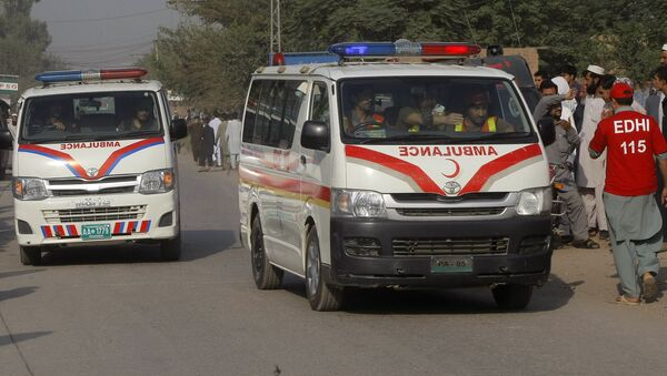 Pakistan, ambulances (image d'illustration) - Sputnik France