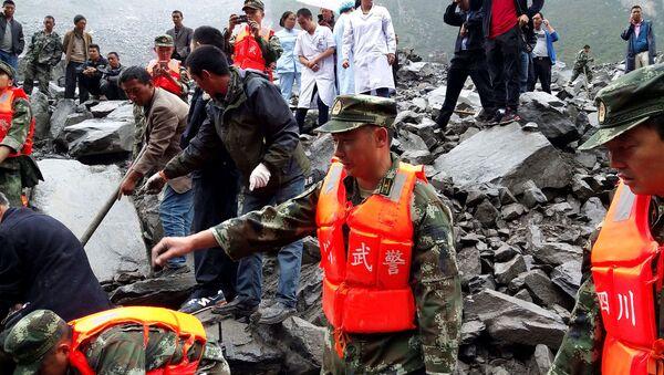 glissement de terrain dans la province du Sichuan - Sputnik France