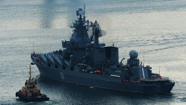 Un croiseur lance-missiles russe - Sputnik France