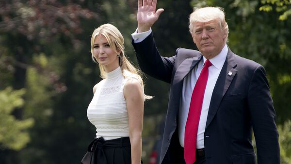 Ivanka Trump et Donald Trump - Sputnik France
