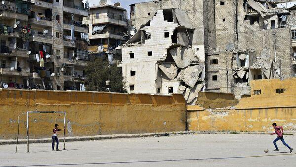 Destructions en Syrie - Sputnik France