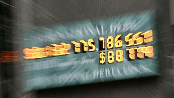 Compteur new-yorkais de la dette publique américaine - Sputnik France