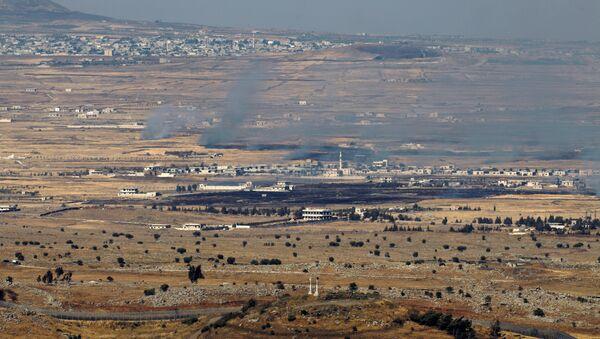 La partie du Golan contrôlée par Israël - Sputnik France