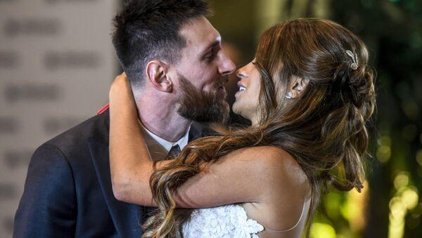 mariage de Lionel Messi - Sputnik France