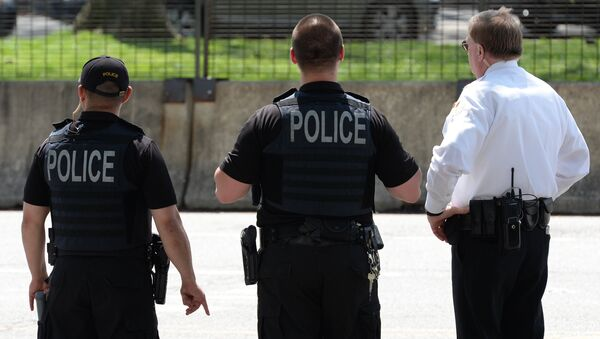 Policiers américains - Sputnik France