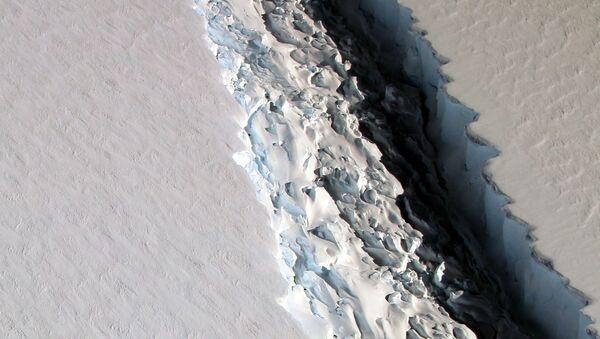 Un iceberg de 5.000 km2 se détache de l'Antarctique à une vitesse colossale - Sputnik France