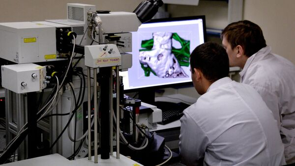 Laboratory of biomedical technologies. File photo - Sputnik France