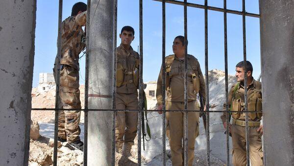 Combattants kurdes à Afrin - Sputnik France