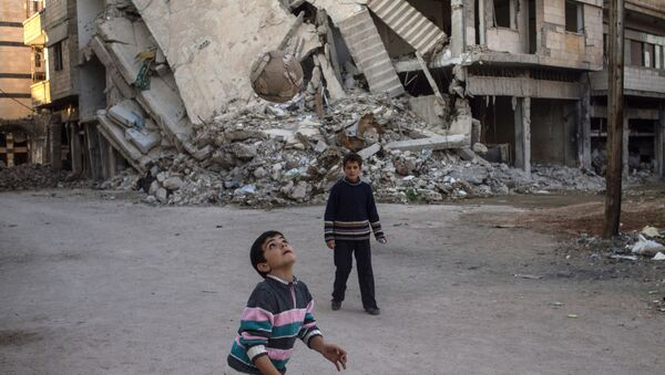 La ville syrienne de Homs. Archive - Sputnik France