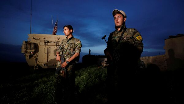 Soldats de l'YPG - Sputnik France